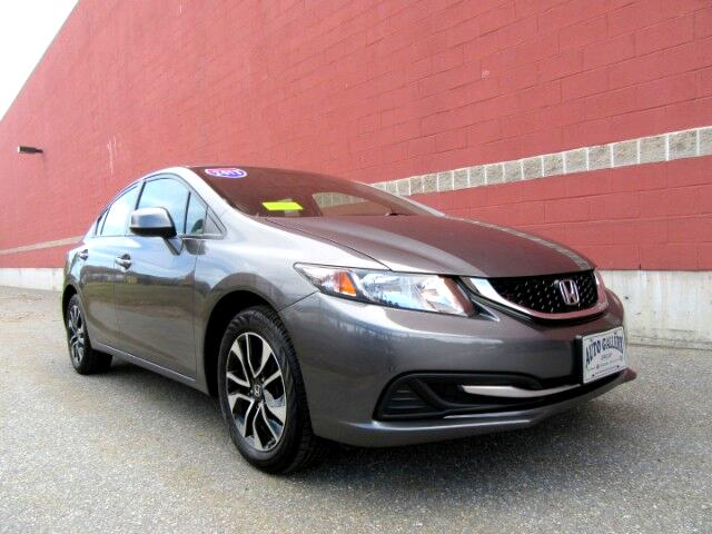 2013 Honda Civic EX Sedan AT Moon Roof Backup Camera