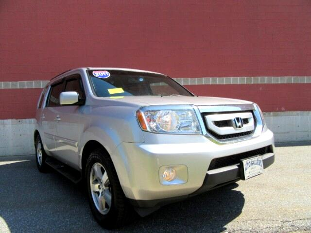 2011 Honda Pilot EX-L 4WD 5-Spd AT Leather DVD Entertainment