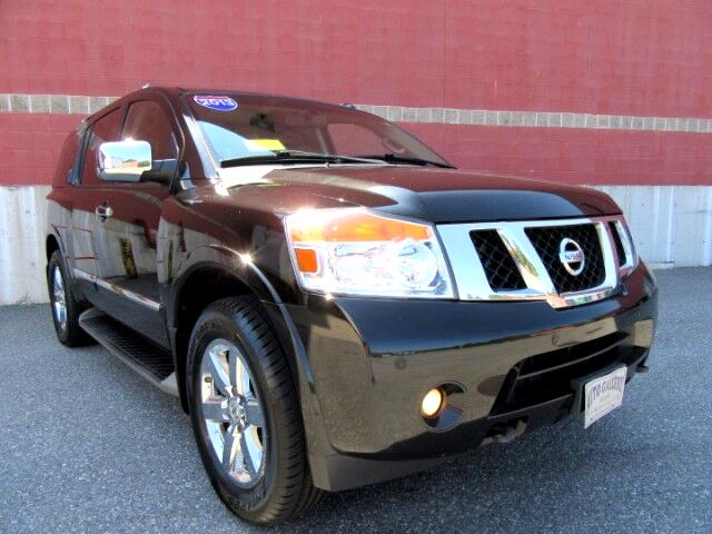 2013 Nissan Armada PLATINUM 4WD NAVIGATION DVD ENTERTAINMENT