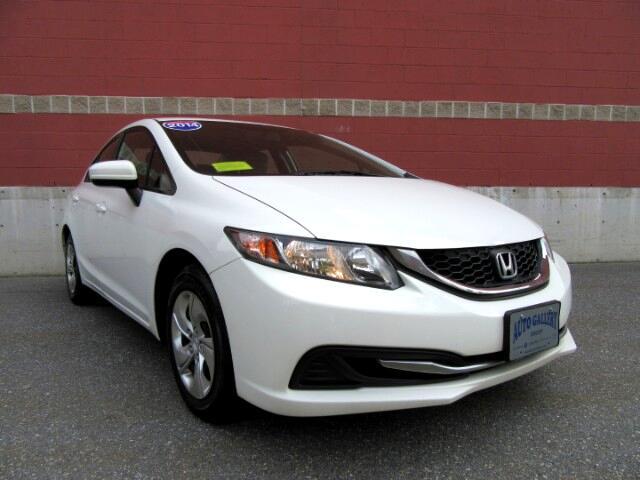 2014 Honda Civic LX Sedan CVT Backup Camera