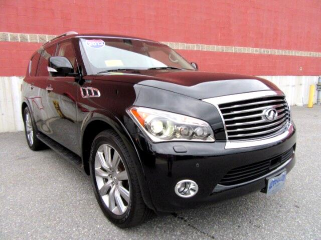 2012 Infiniti QX56 4WD NAVIGATION DVD ENTERTAINMENT