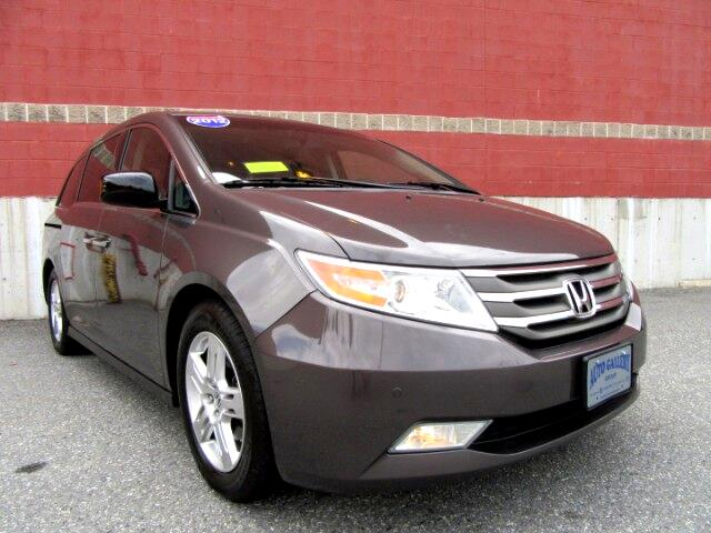 2012 Honda Odyssey Touring Navigation DVD Entertainment