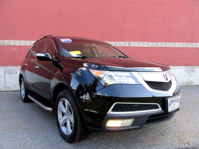 2012 Acura MDX 6-Spd AT DVD Entertainment
