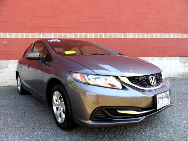 2014 Honda Civic LX Sedan CVT Backup Camera