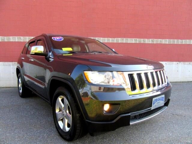 2011 Jeep Grand Cherokee LIMITED 4WD NAVIGATION LEATHER