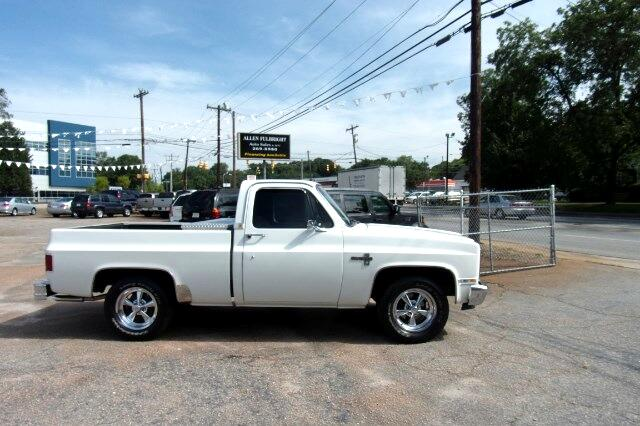 used 1985 chevrolet c k 10 for sale in greenville sc 29611 allen. Cars Review. Best American Auto & Cars Review