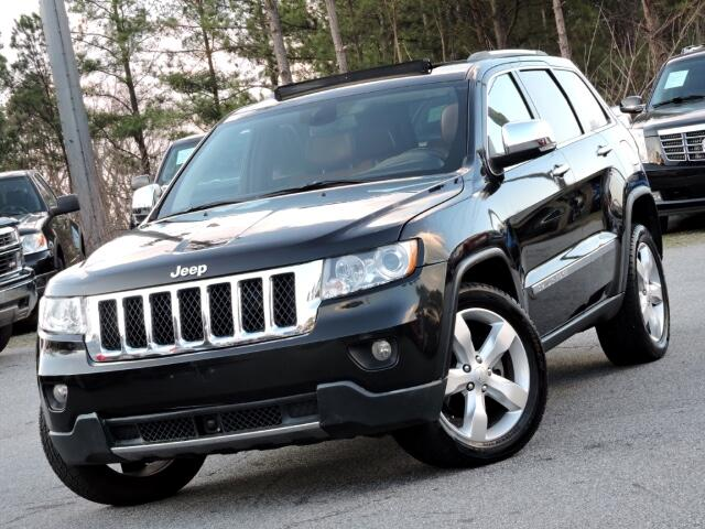 2012 Jeep Grand Cherokee Overland 2WD