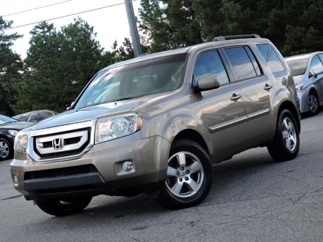 2011 Honda Pilot EX-L 2WD 5-Spd AT with DVD ALLOYS LEATHER SUNROOF