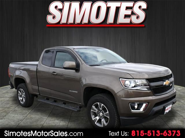 2017 Chevrolet Colorado Z71 Ext. Cab 4WD