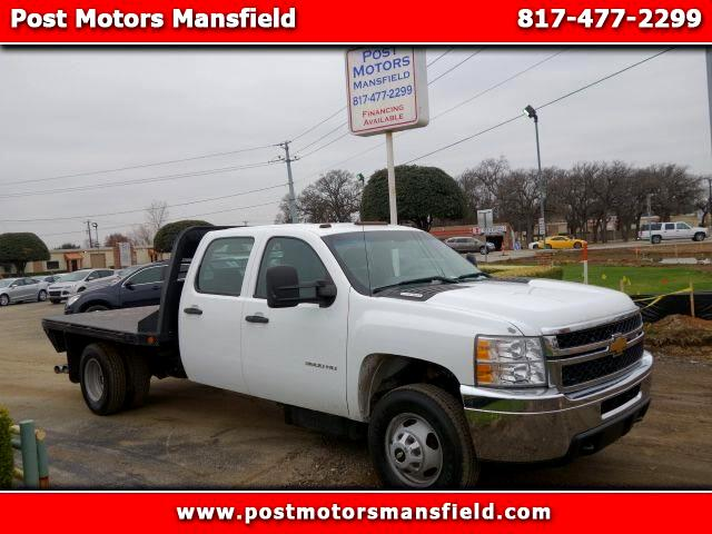 2012 Chevrolet Silverado 3500HD Work Truck Crew Cab Long Box 4WD