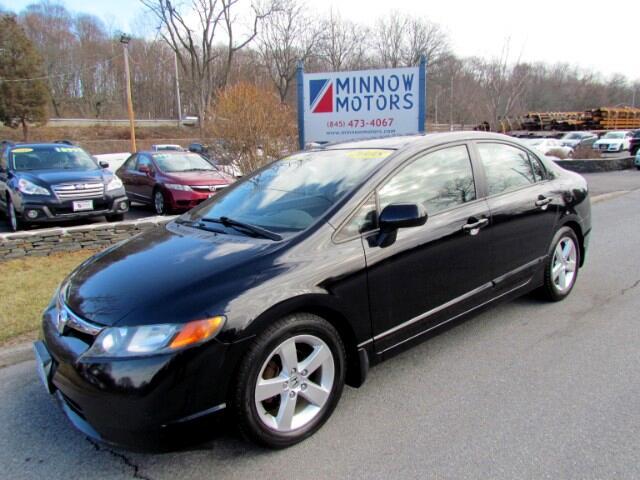 2008 Honda Civic EX Sedan AT with Navigation