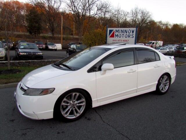 2007 Honda Civic Si Sedan with Navigation and Performance Tires