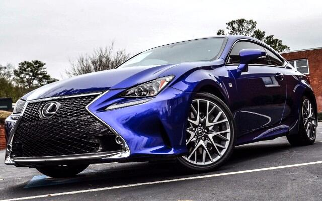 2015 Lexus RC 350 RWD F-Sport Package