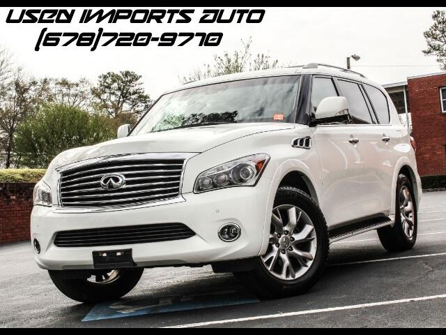 2013 Infiniti QX56 W/Technology Package