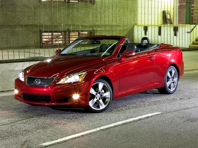 2010 Lexus IS 250C Convertible