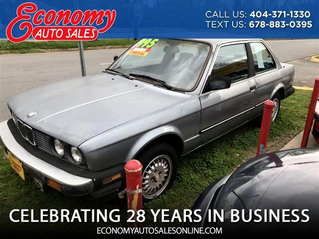 1986 BMW 3-Series 325E automatic