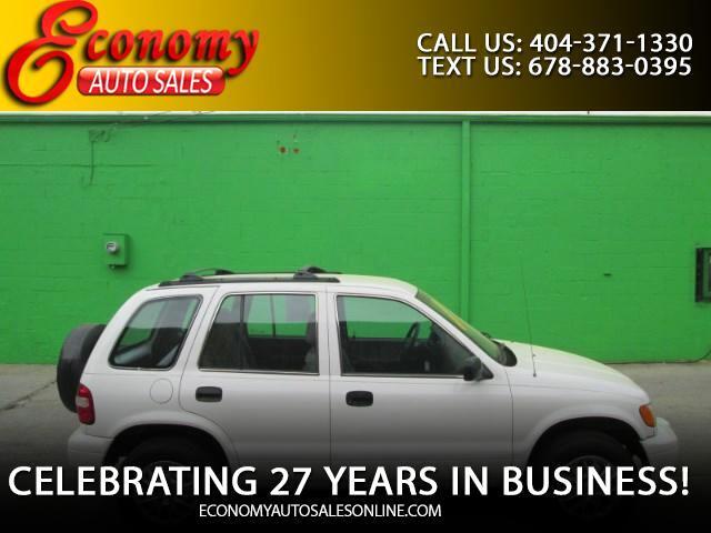 2001 Kia Sportage 4-Door 2WD