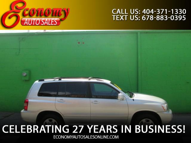 2003 Toyota Highlander Limited V6 2WD