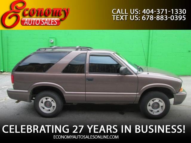 1999 GMC Jimmy SL 2-Door 2WD