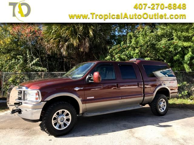 2005 Ford F-350 SD King Ranch Crew Cab Long Bed 4WD