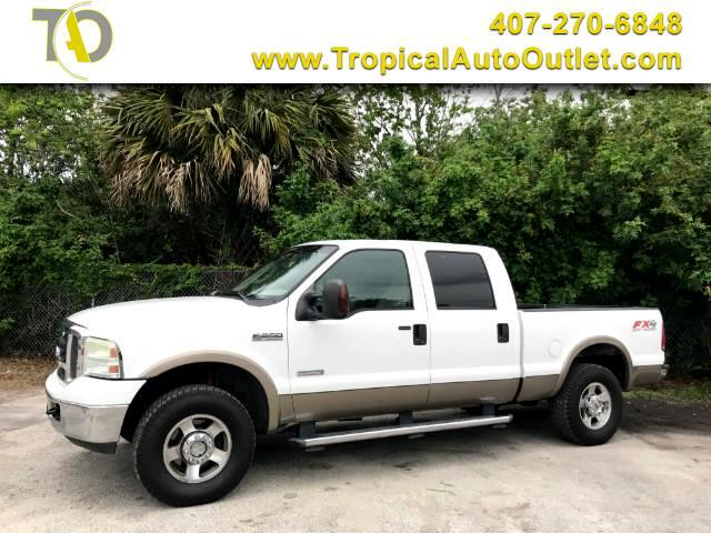 2005 Ford F-250 SD XLT Crew Cab Long Bed 4WD