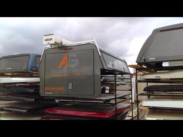1 Dodge Ram Truck 2009+ LEER DCC Commercial Topper
