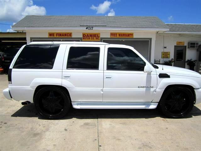 2000 Cadillac Escalade 4WD