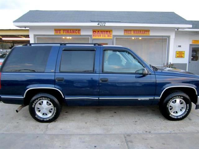 1997 Chevrolet Tahoe 4-Door 2WD