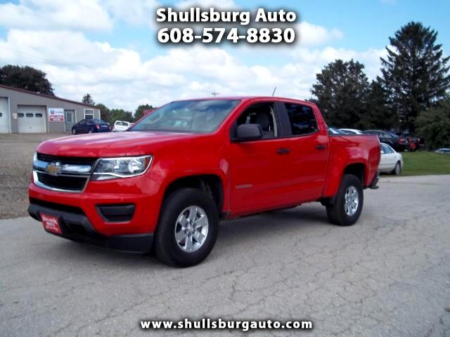 2017 Chevrolet Colorado crew cab 4WD short box