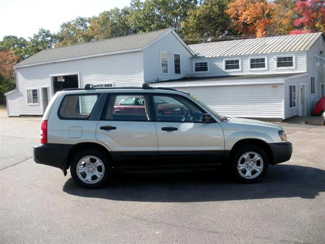2003 Subaru Forester 2.5 X