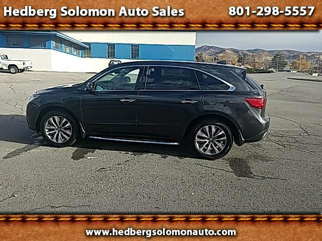 2015 Acura MDX SH-AWD 6-Spd AT w/Tech Package