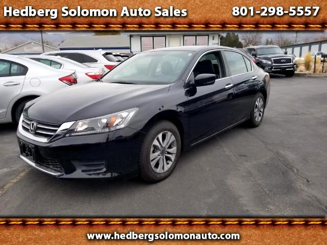 2014 Honda Accord LX leather