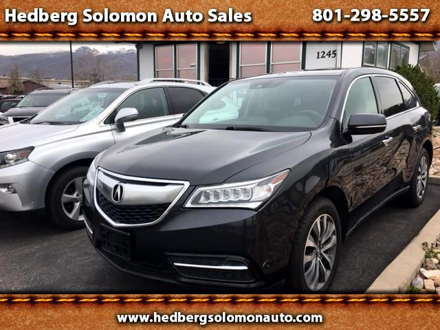 2016 Acura MDX SH-AWD 9-Spd AT w/Tech and Entertainment Package