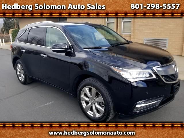 2015 Acura MDX 9-Spd AT SH-AWD w/Advance and Entertainment