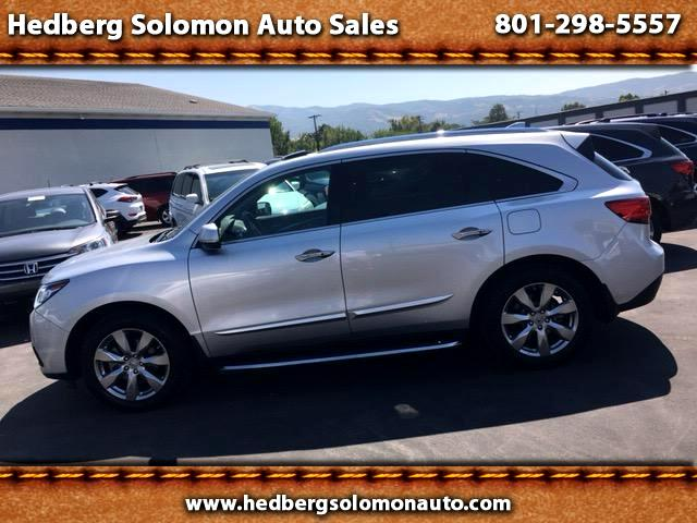 2015 Acura MDX 6-Spd AT w/Advance and Ent. Pkg