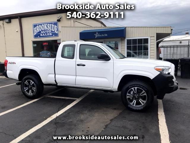 2017 Toyota Tacoma SR Extended Cab 4x4