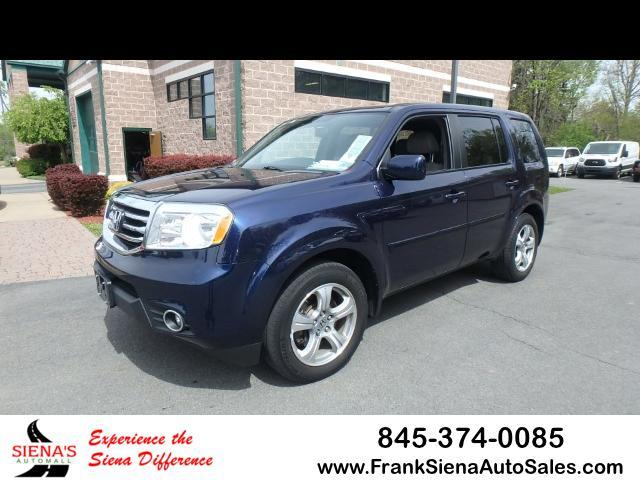 2014 Honda Pilot EX-L 4WD 5-Spd AT with Navigation