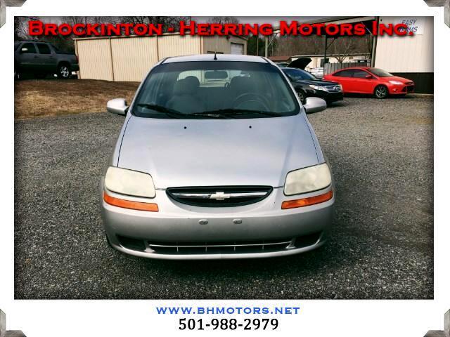 2004 Chevrolet Aveo LS 5-Door