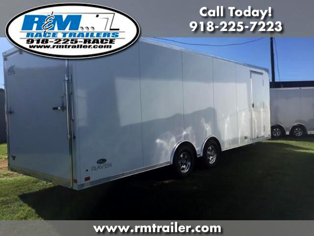 2018 ATC Raven 24FT ENCLOSED CAR TRAILER