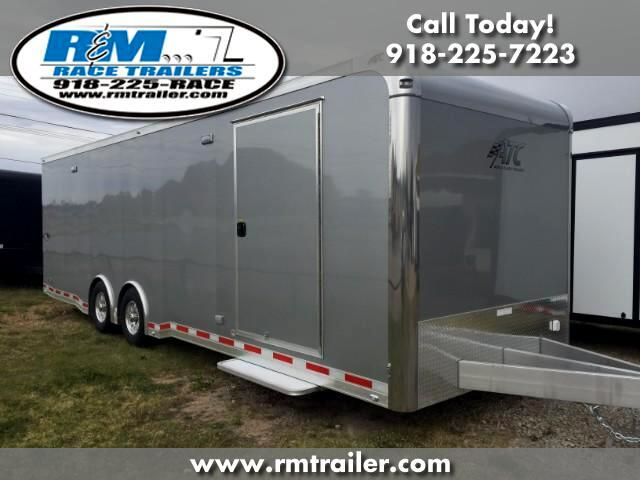 2018 ATC Quest 28FT ENCLOSED RACE TRAILER
