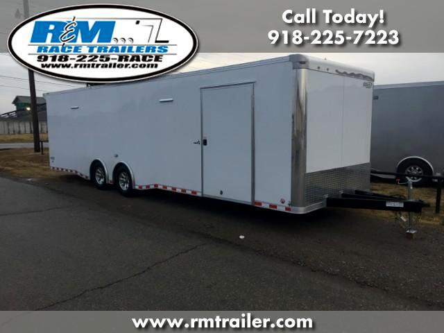 2018 Bravo Trailers Star 30FT ENCLOSED RACE TRAILER
