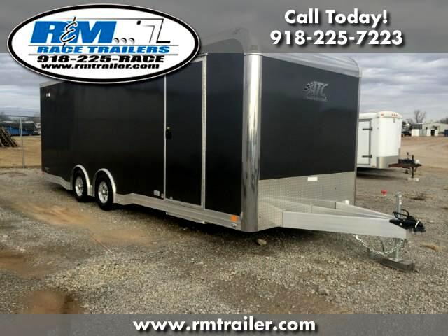 2018 ATC Quest 24FT ENCLOSED RACE TRAILER