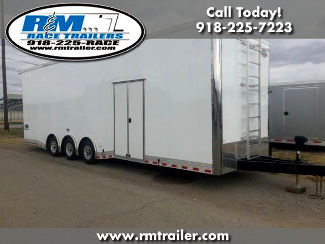 2018 Cargo Mate Eliminator 32FT ENCLOSED RACE TRAILER