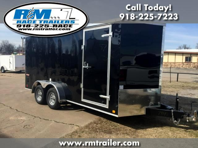 2019 Cargo Mate E Series Wedge ENCLOSED TRAILER 7X16