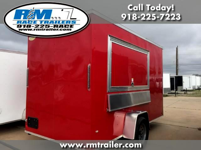 2017 Covered Wagon Cargo Trailer 6x12 CONCESSION TRAILER