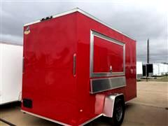 2017 Covered Wagon Cargo Trailer