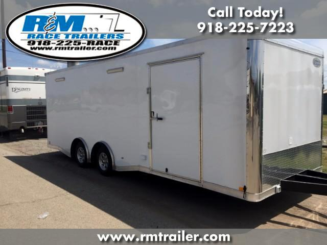 2018 Continental Cargo Value Hauler Wedge 24FT ENCLOSED RACE TRAILER