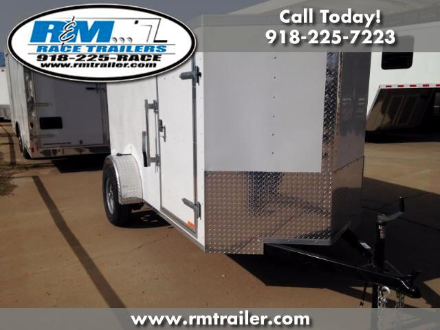 2018 Cargo Mate Econo Hauler Wedge ENCLOSED TRAILER 5X10