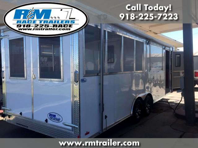 2018 Cargo Mate E Series 24ft CONCESSION TRAILER WITH PORCH