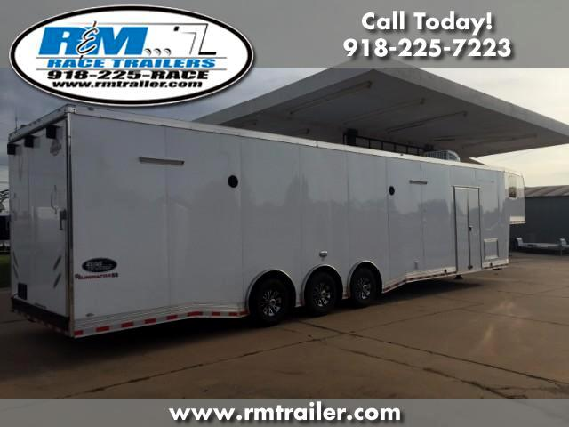 2018 Cargo Mate Eliminator 44FT ENCLOSED TRAILER WITH BATHROOM SHOWER